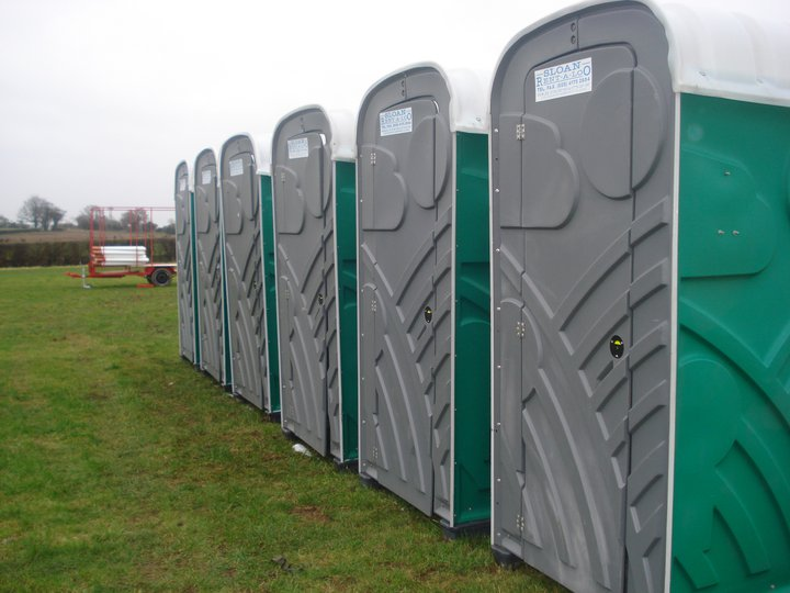 Urinal Construction Site : Chemical site toilet hire sloan rent a loo northern ireland